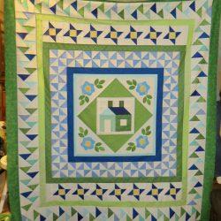 medallion style patchwork quilt